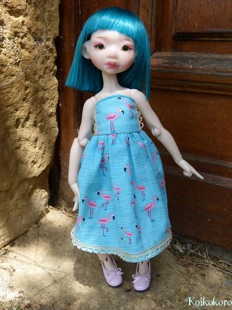 Couture et tricotages : monstre, flamant rose et alpaga 19673627149_46ff4fa132_z