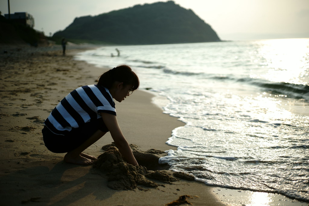 姉子の浜鳴き砂海岸