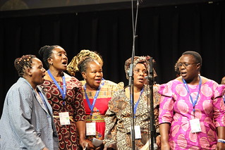 Brethren Choral Sounds Choir from Zimbabwe sang at MWC July 23, 2015