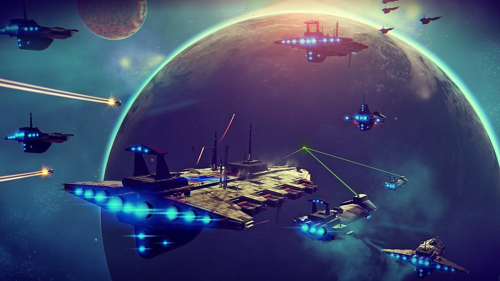 No Man's Sky, Blue Space