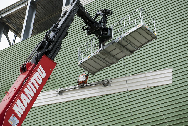 Platform Crane with Winch - MRT 3255