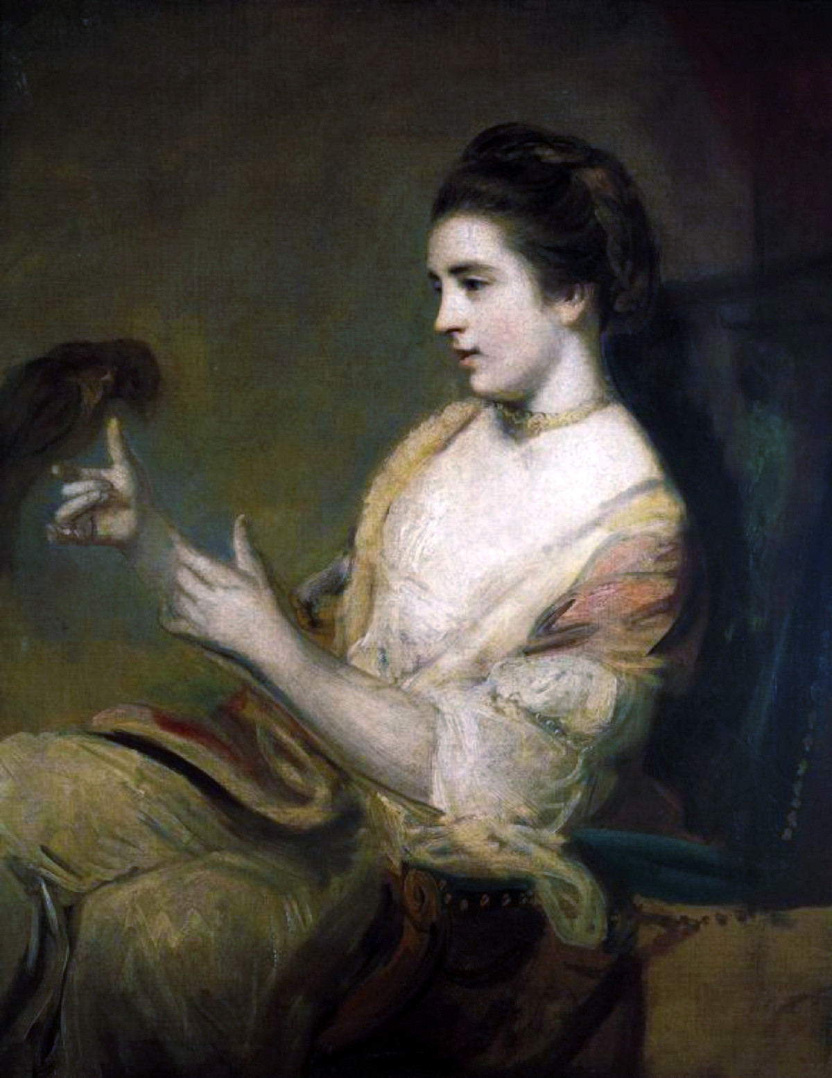 Kitty Fisher by Joshua Reynolds, 1763