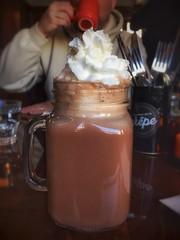 Hot Chocolate @ La Maison De La Crepe