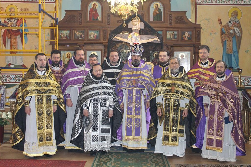 ОСЕЩИНА. Відбулася соборна Літургія духовенства 2-го Вишгородського благочиння