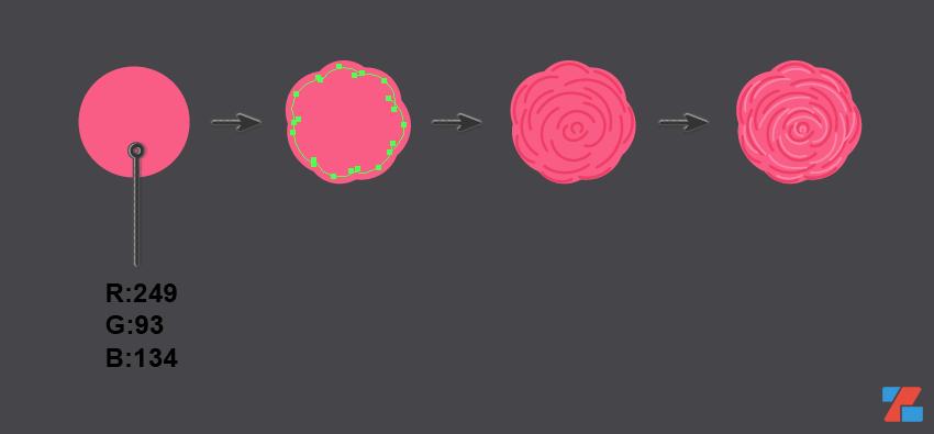 Hướng dẫn vẽ hoạ tiết trong Adobe Illustrator