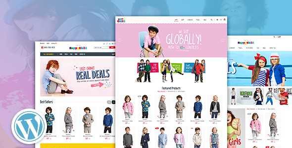 HappyChild WordPress Theme free download