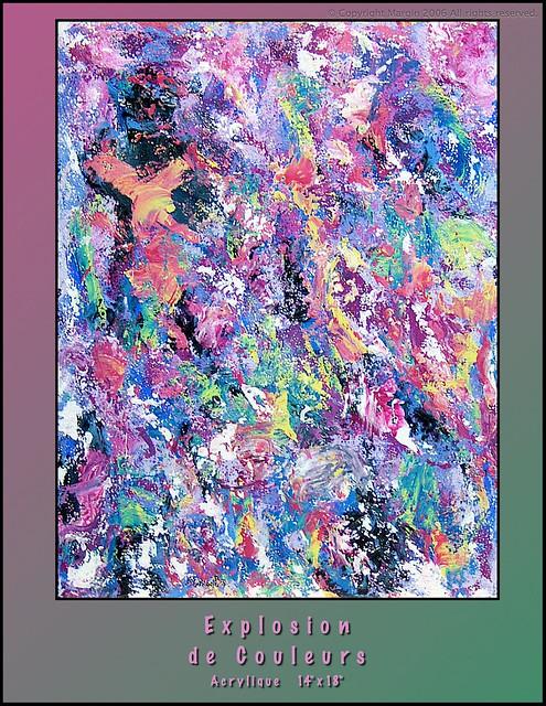 Explosions de couleurs