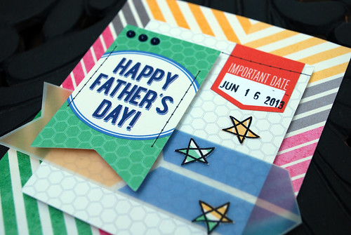 Happy Fathers Day Card Close Up 2