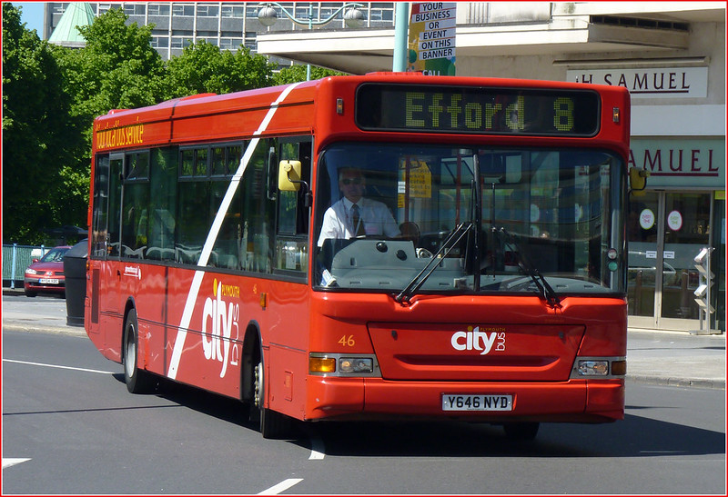 Plymouth Citybus 46 Y646NYD