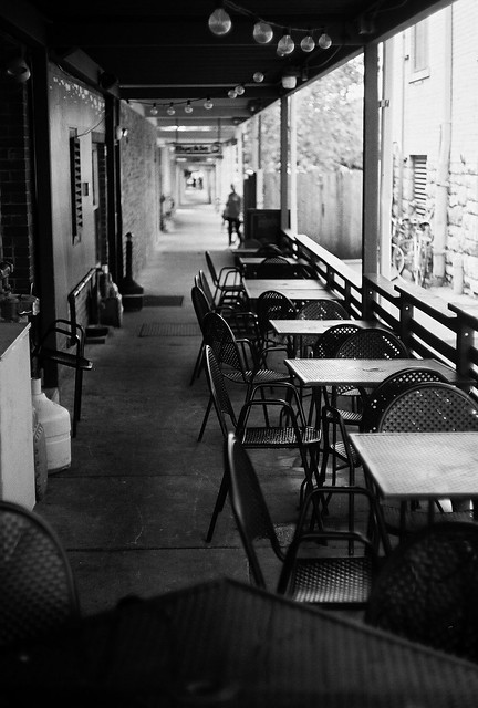 Alley Cafe Trina Baker Photography
