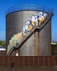 Güterbahnhof Altona Graffiti