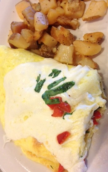 Tuscany Omelet from the Turning Point in Marlton NJ