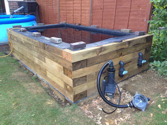 Hi And My First Pond So A Few Questions Pond Design And