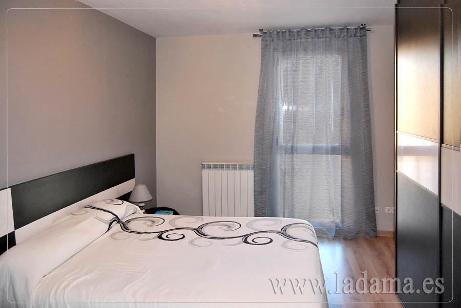 Fotograf as de cortinas modernas la dama decoraci n - Cortinas modernas dormitorio ...