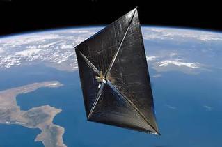 solar sail, NanoSail-D, propulsion, space, exploration, travel
