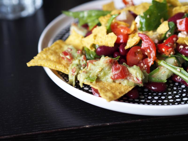 tacosalaatti ja guacamole resepti