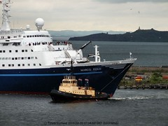 Marco Polo arrives in Leith 2
