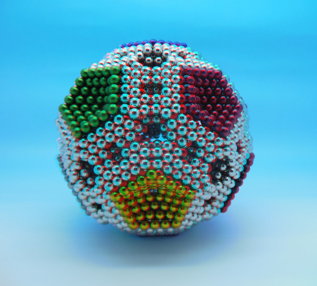 3D-Colorful-Pentaball