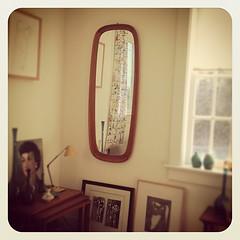 Danish Modern Mirror.