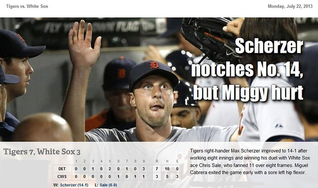 2013 DETROIT TIGER SCHEDULE AND RESULTS - Page 4 9349418896_4cfaebd79f_z