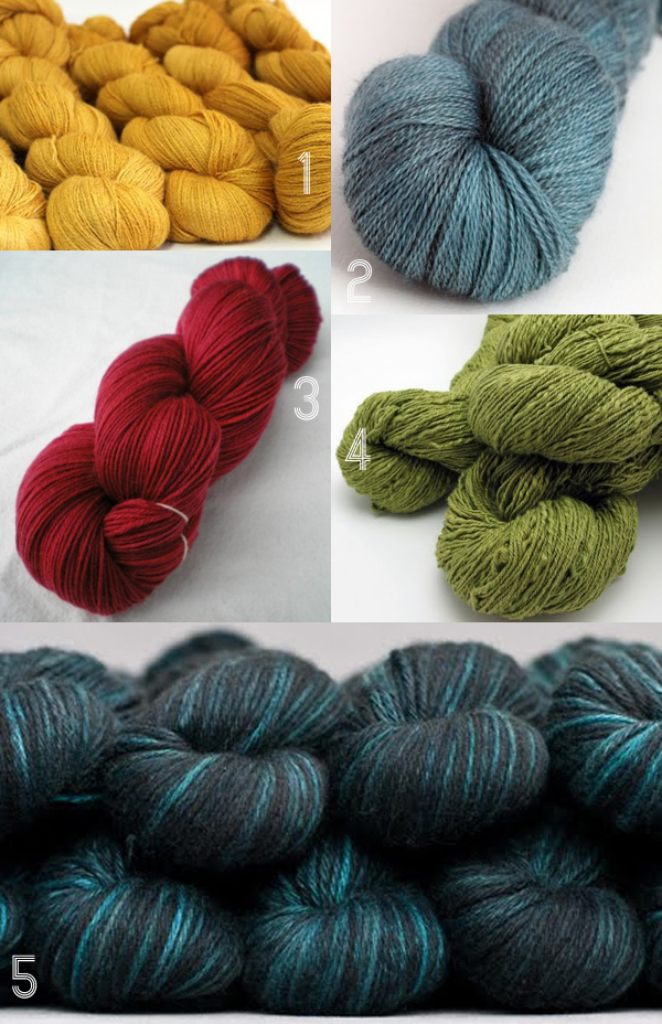 Yummy yarny-ness! A collection of favourites from my newest Pinterest board with the same name