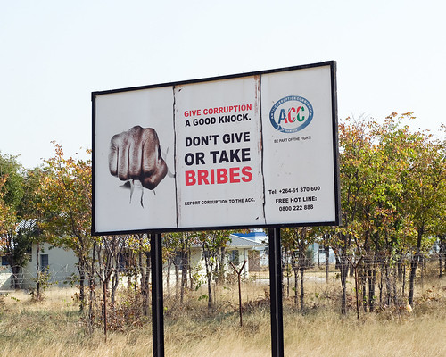 Anti-Corruption billboard