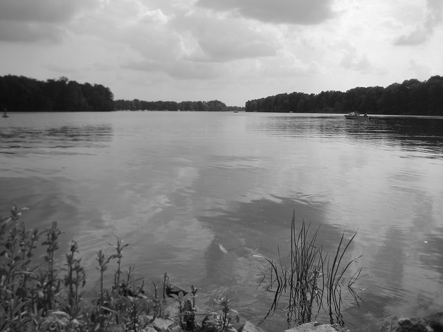 Lehnitzsee bei Oranienburg