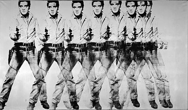Eight Elvises