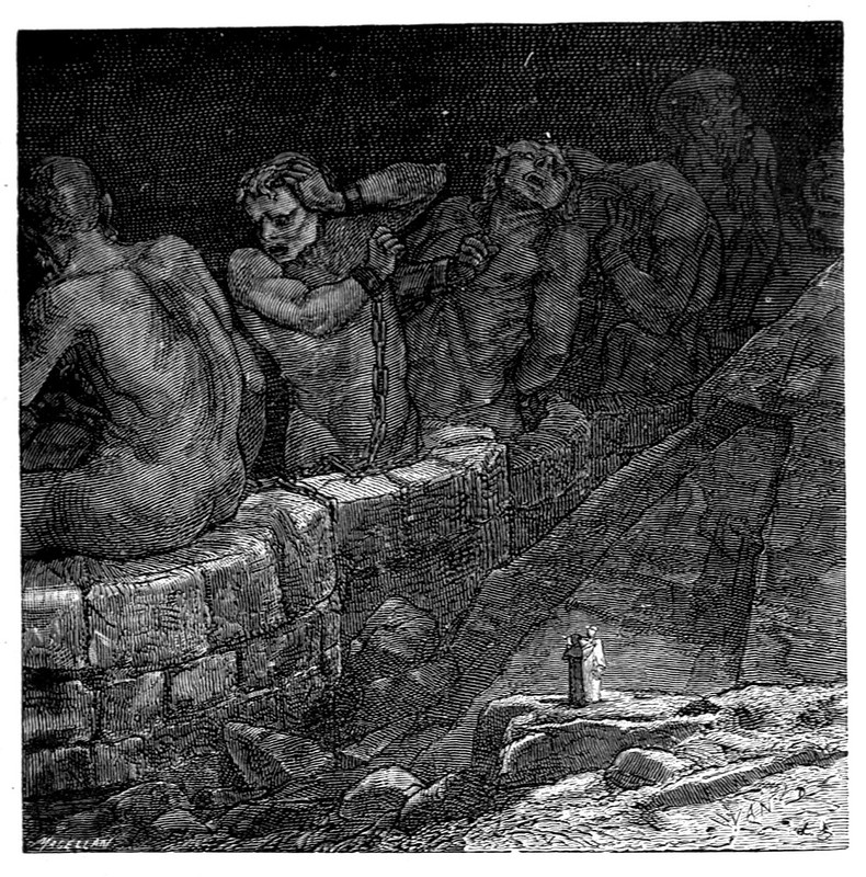 Jean-Edouard Dargent - Illustrations from Dante's Divine Comedy 1870 (19)