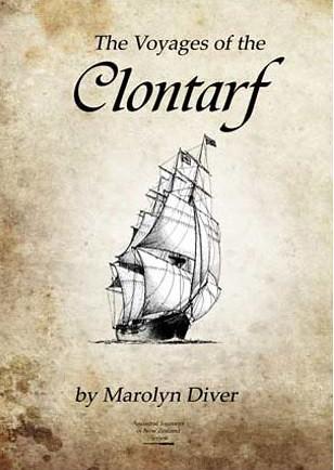 Ship Clontarf 1858 1860 Lyttelton New Zealand