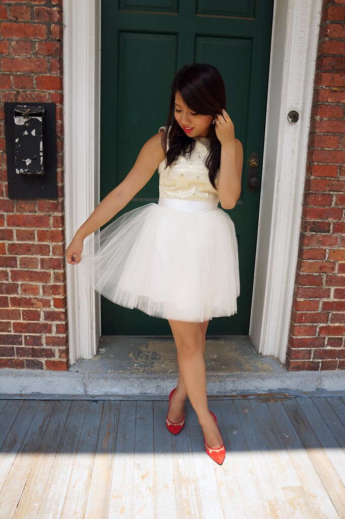 petite hues, space46 boutique, wendy's lookbook, tulle skirt