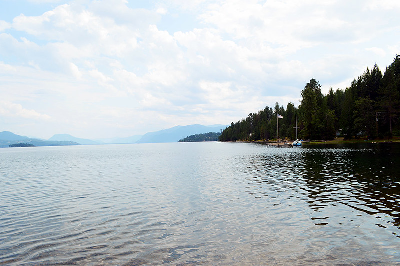 Lake Pend Oreille from Emerald Beach
