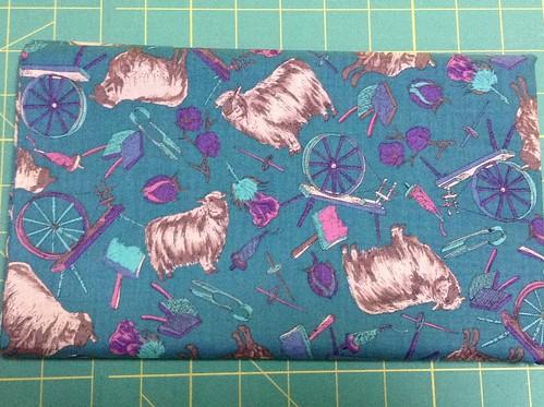 Crazy sheep fabric