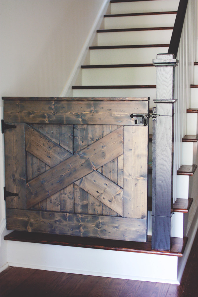 Barn Door Stair Gate Lesley W Graham
