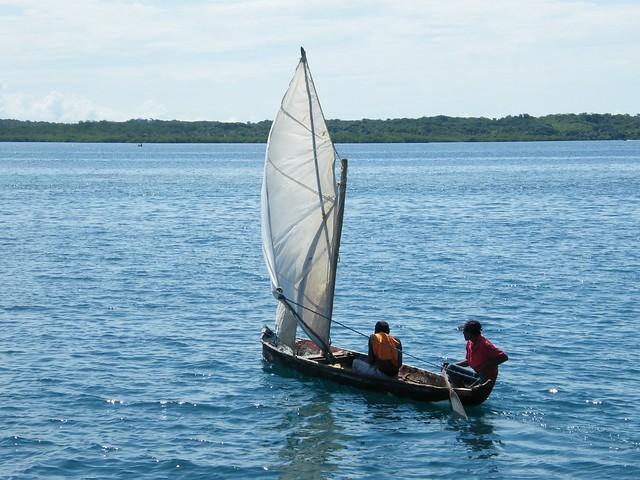 Kuna Canoe