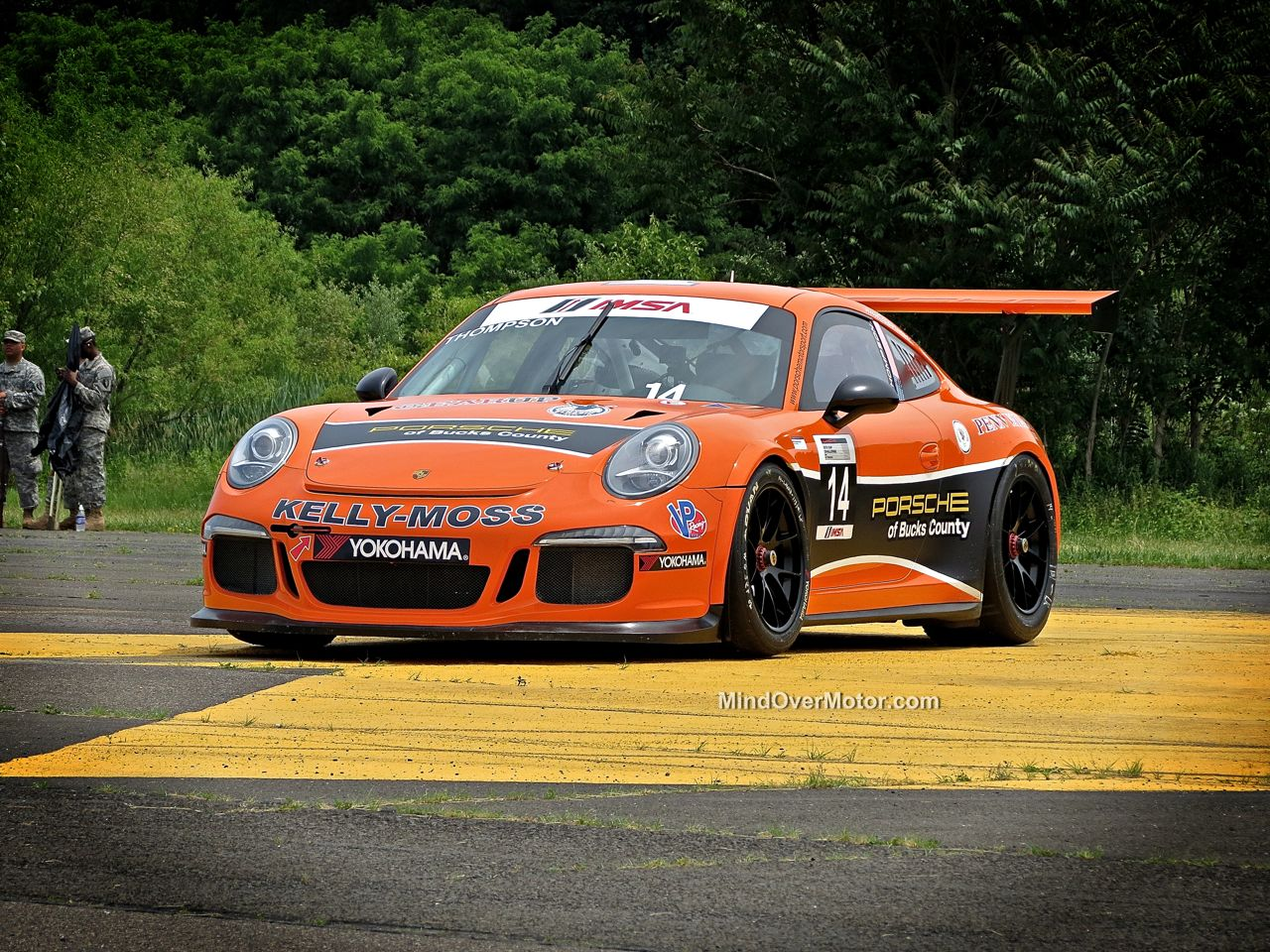 Porsche 911 RSR at CF Charities