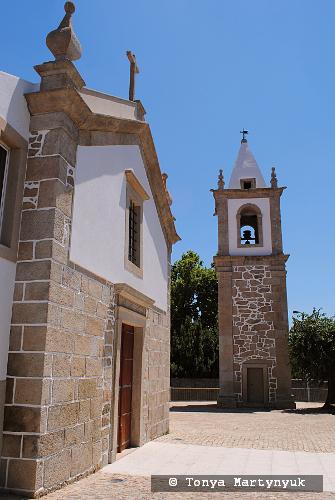 57 - провинция Португалии - маленькие города, посёлки, деревушки округа Каштелу Бранку