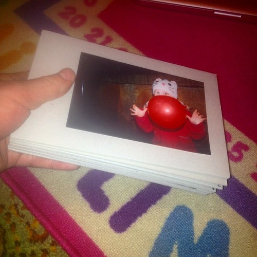 26 random photos taped to car with no idea how to bind it together. #homemade