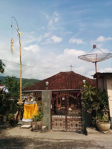 Bali roadside view