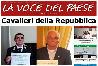 Noicattaro. Prima pagina n. 22-2014 front