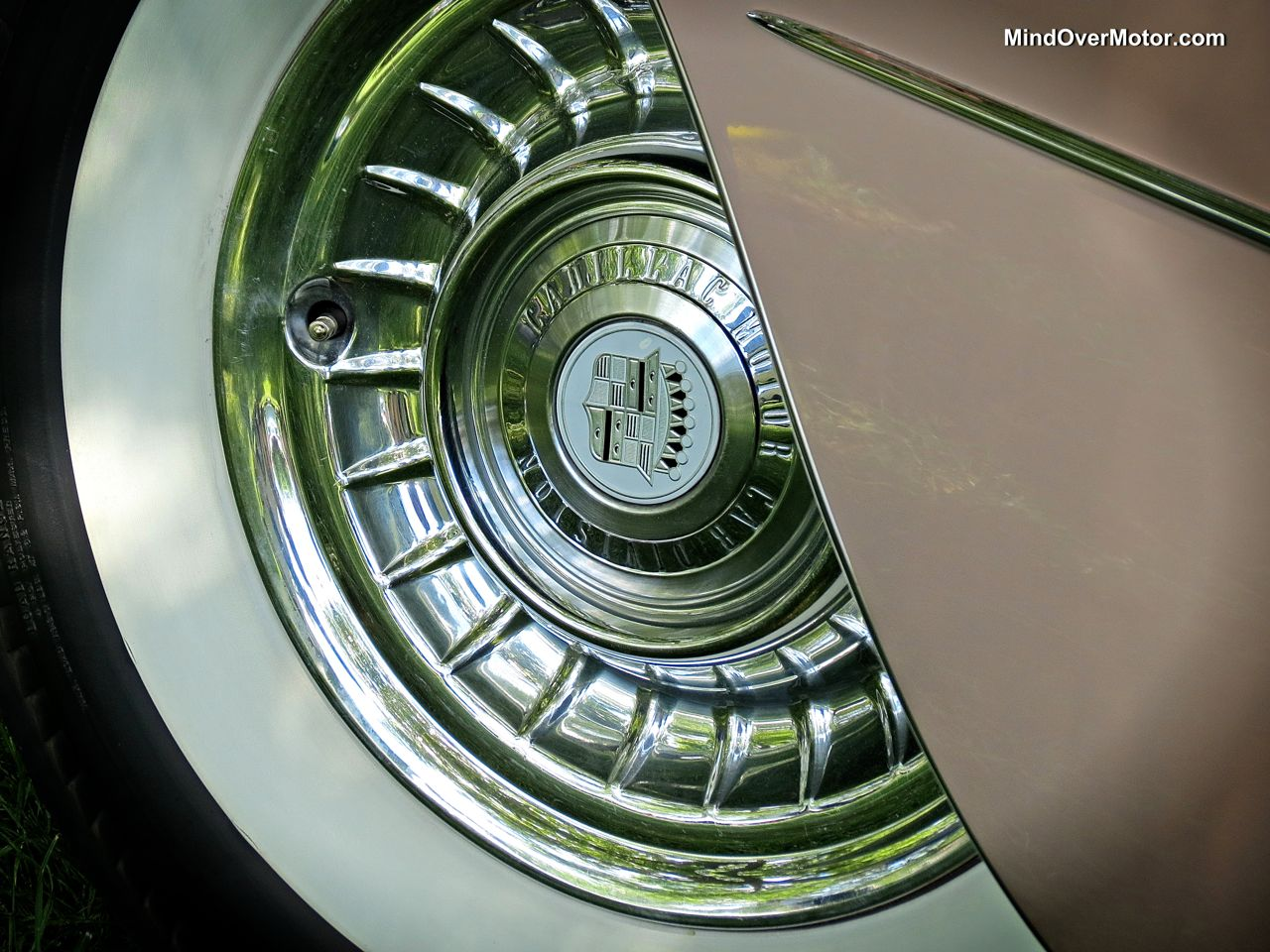 1959 Cadillac Coupe De Ville Wheel