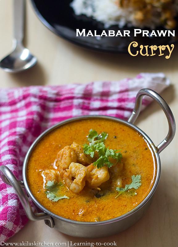 how to make malabar shrimp curry
