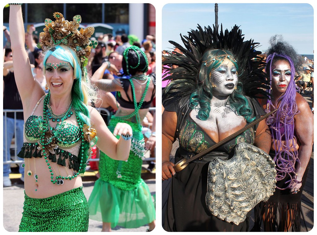 coney island mermaid parade mermaid costumes