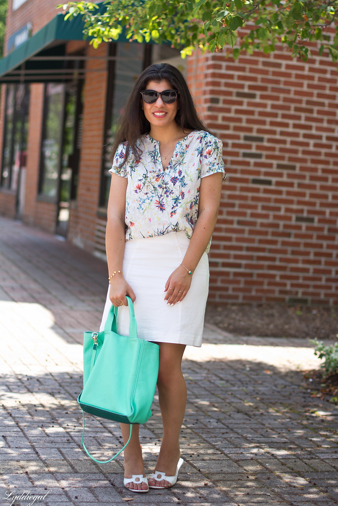 botanical print blouse, white skirt-6.jpg