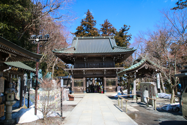Temple on Mount Takao