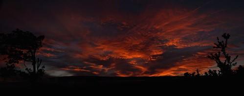sunset island volcano hawaii big mauna loa