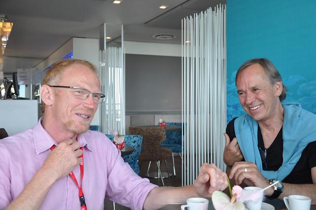 Bruno d'Halluin et Björn Larsson - Festival Étonnants Voyageurs