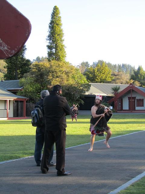 Danza Maorí de bienvenida