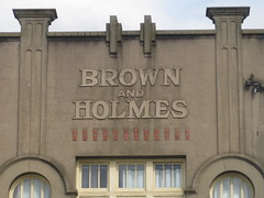 The Art Nouveau Brown and Holmes Building