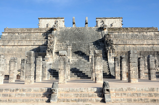 Templo de los Guerreros (Temple of the Warriors), Chichen Itza